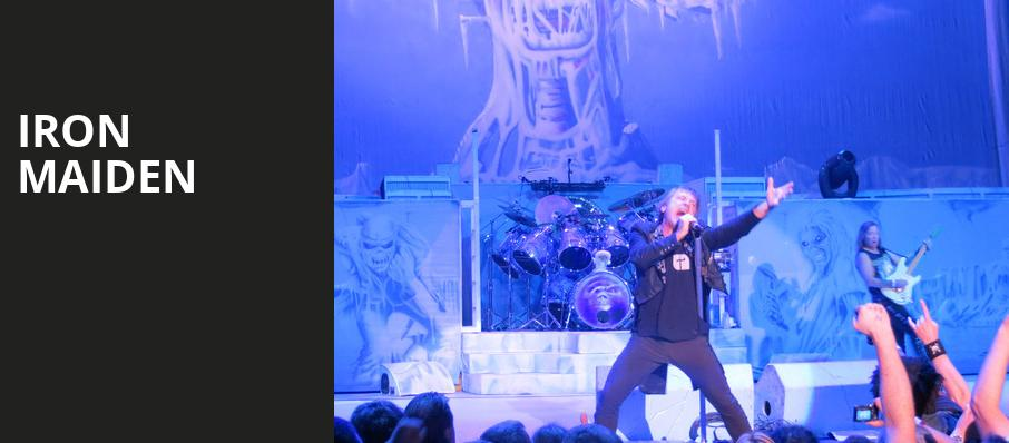Iron Maiden, Dos Equis Pavilion, Dallas