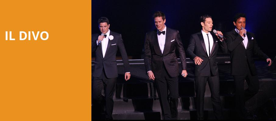 Best shows in dallas in october 2016 tickets info - Il divo tour dates ...