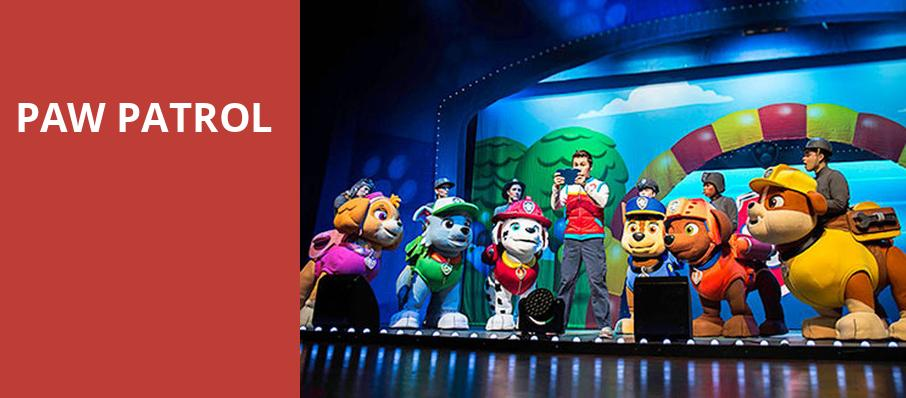 Paw Patrol, Verizon Theatre, Dallas