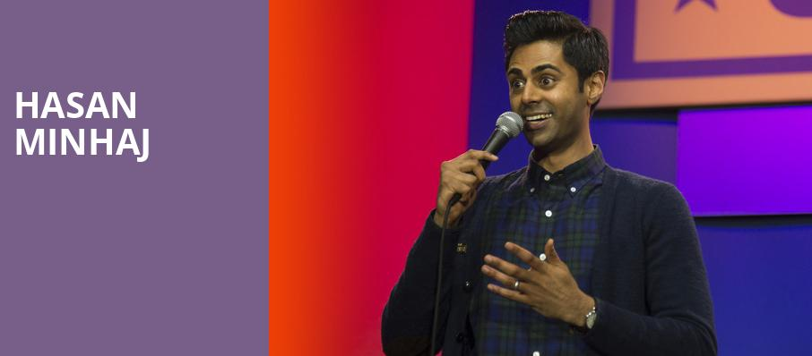 Hasan Minhaj, Winspear Opera House, Dallas