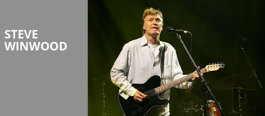Steve Winwood, Pavilion at the Music Factory, Dallas