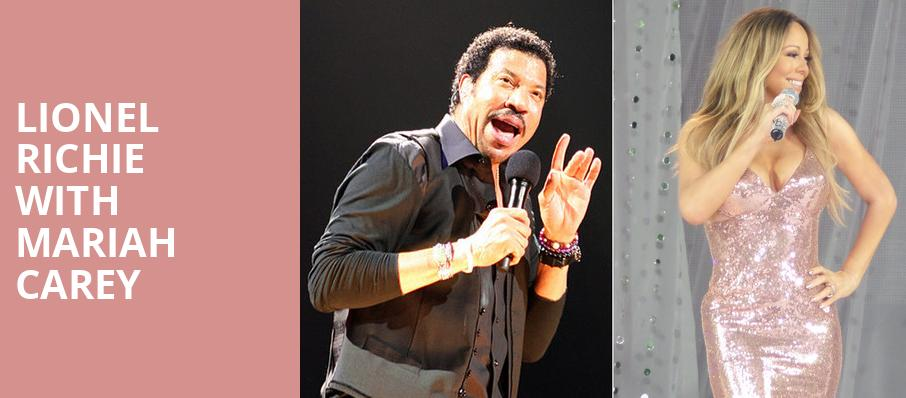 Lionel Richie with Mariah Carey, American Airlines Center, Dallas