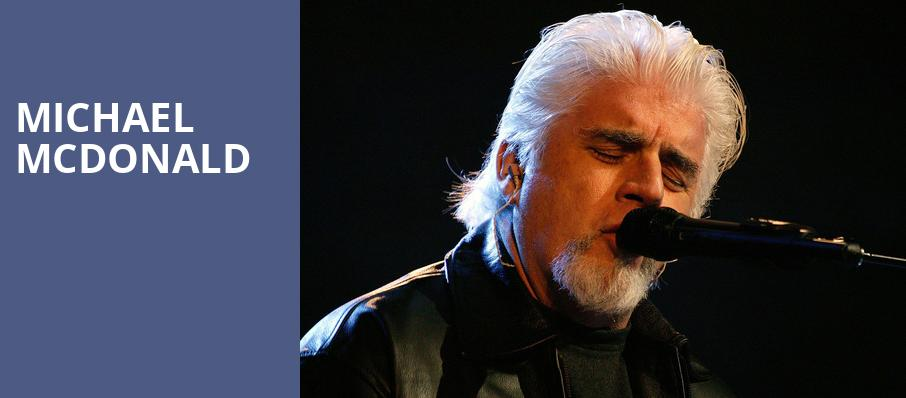 Michael McDonald, Verizon Theatre, Dallas