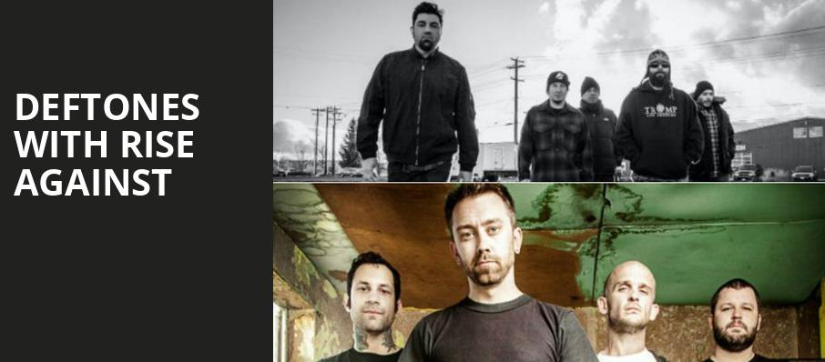 Deftones with Rise Against, Gexa Energy Pavilion, Dallas