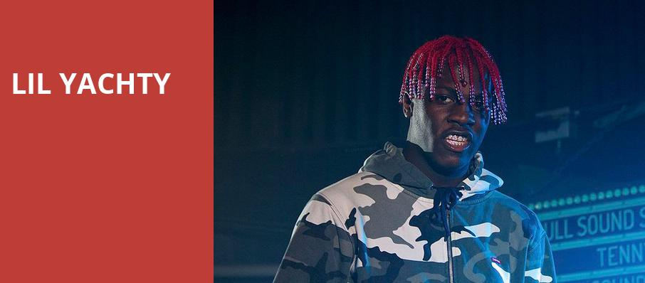 Lil Yachty, The Bomb Factory, Dallas