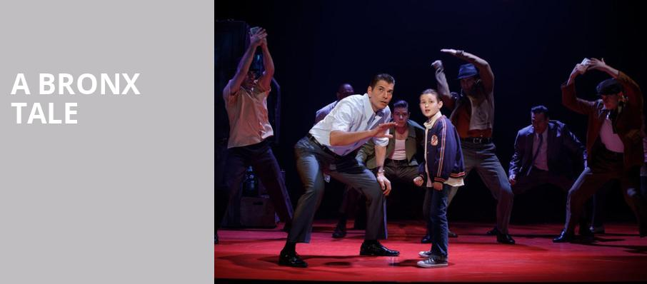 A Bronx Tale, Winspear Opera House, Dallas