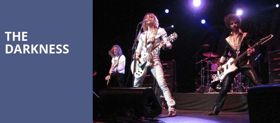The Darkness, South Side Music Hall, Dallas