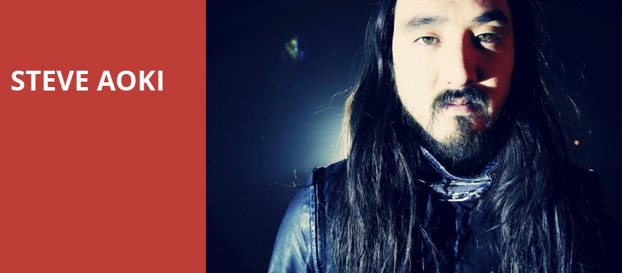 Steve Aoki, The Bomb Factory, Dallas