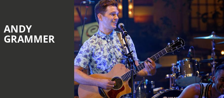 Andy Grammer, House of Blues, Dallas