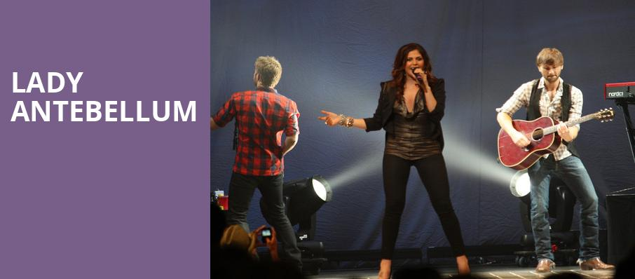 Lady Antebellum, Gexa Energy Pavilion, Dallas