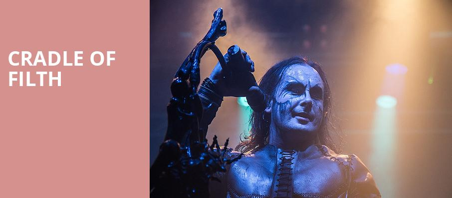 Cradle of Filth, House of Blues, Dallas