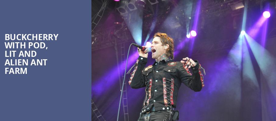 Buckcherry with POD Lit and Alien Ant Farm, Pavilion at the Music Factory, Dallas