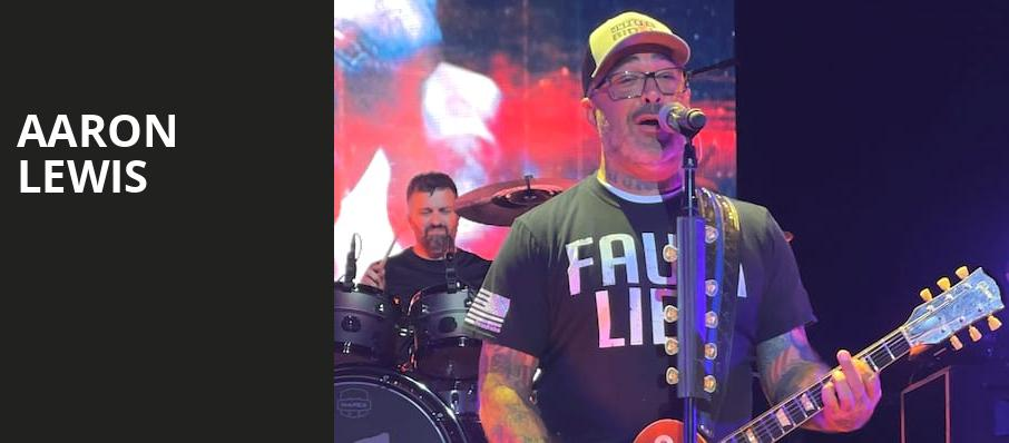 Aaron Lewis, Pavilion at the Music Factory, Dallas