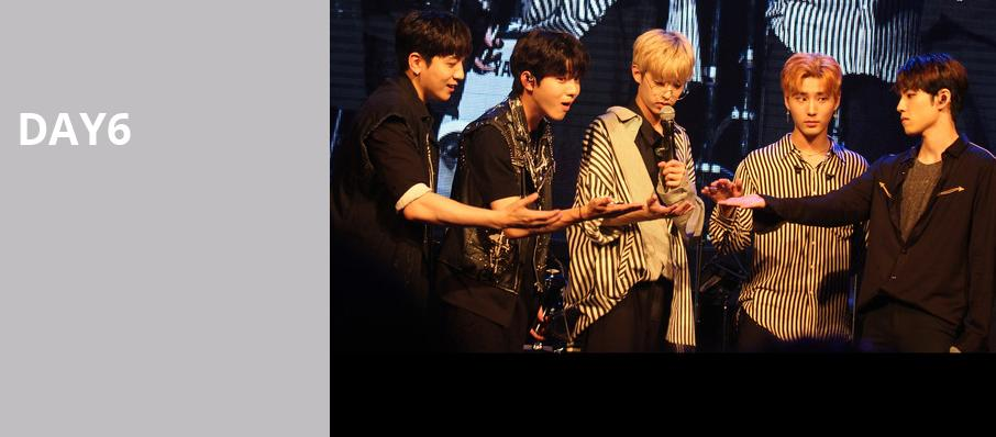 Day6, Verizon Theatre, Dallas
