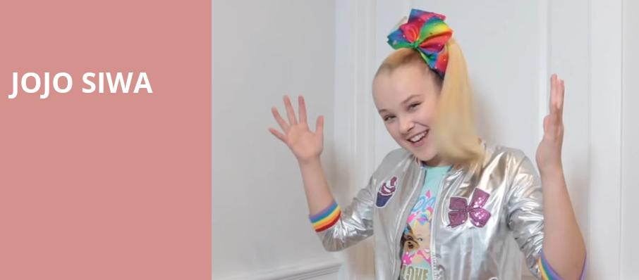 Jojo Siwa, Verizon Theatre, Dallas