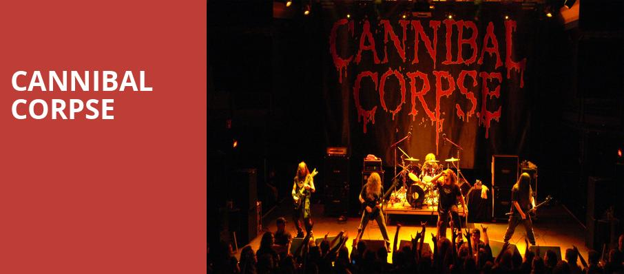 Cannibal Corpse, Gas Monkey Live, Dallas
