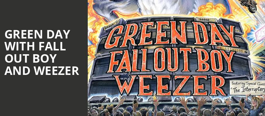 Green Day with Fall Out Boy and Weezer, Globe Life Field, Dallas