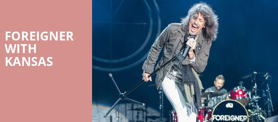 Foreigner with Kansas, Dos Equis Pavilion, Dallas