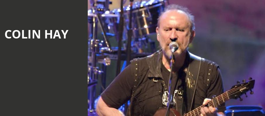 Colin Hay, Majestic Theater, Dallas