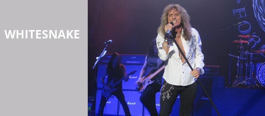 Whitesnake, Choctaw Casino Resort, Dallas