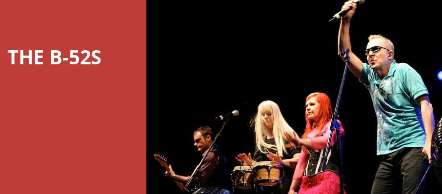 The B 52s, House of Blues, Dallas