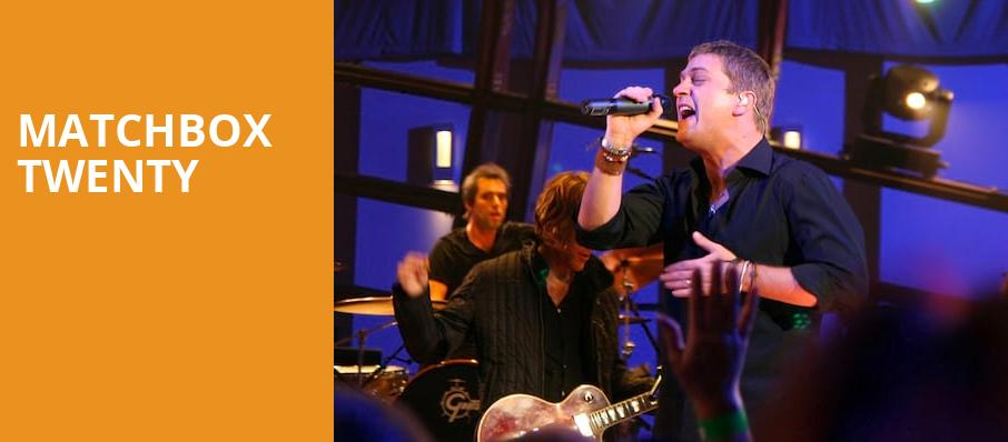 Matchbox Twenty, Dos Equis Pavilion, Dallas