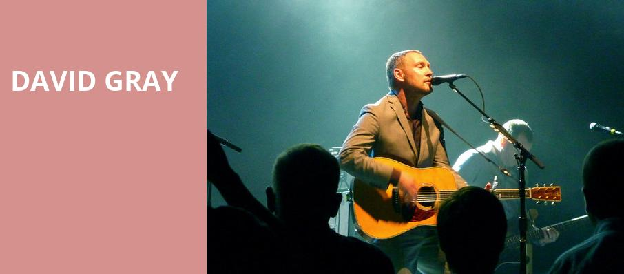 David Gray, Pavilion at the Music Factory, Dallas
