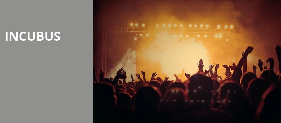 Incubus, Pavilion at the Music Factory, Dallas