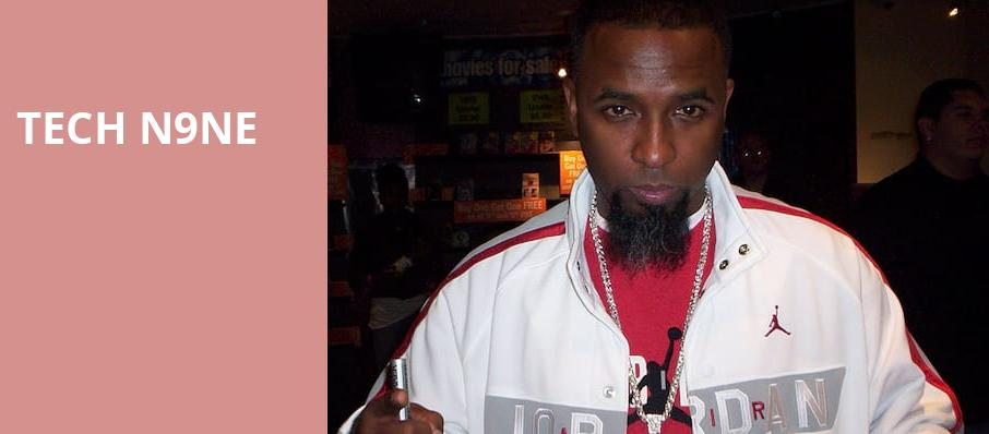 Tech N9ne, House of Blues, Dallas