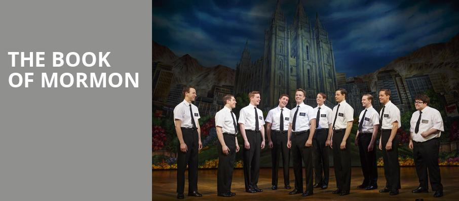 The Book of Mormon, Music Hall at Fair Park, Dallas