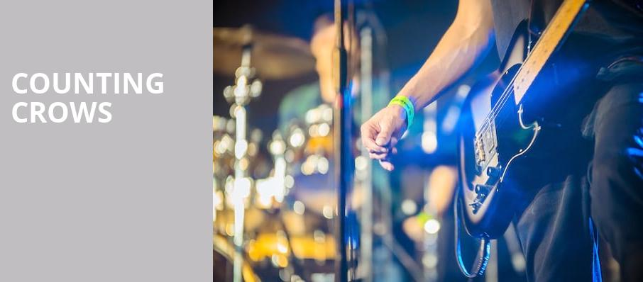 Counting Crows, Pavilion at the Music Factory, Dallas