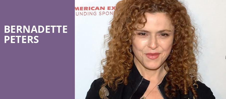 Bernadette Peters, Meyerson Symphony Center, Dallas