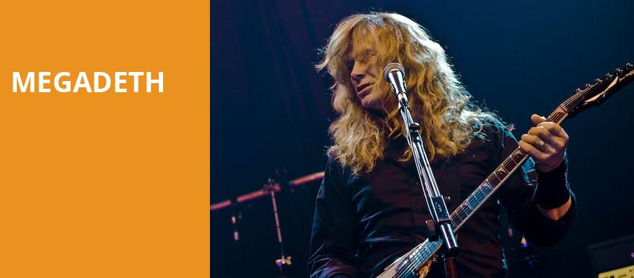 Megadeth, Pavilion at the Music Factory, Dallas