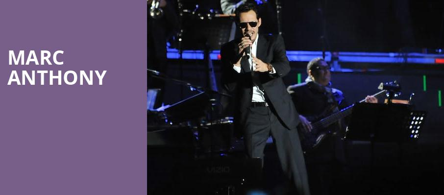 Marc Anthony, American Airlines Center, Dallas