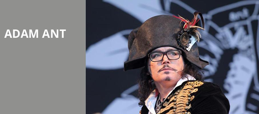 Adam Ant, Majestic Theater, Dallas