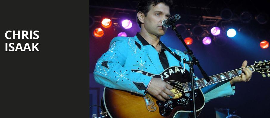 Chris Isaak, Pavilion at the Music Factory, Dallas