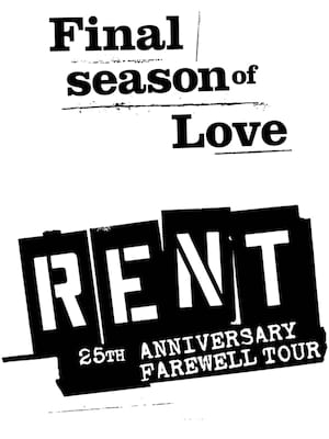 Rent, Winspear Opera House, Dallas