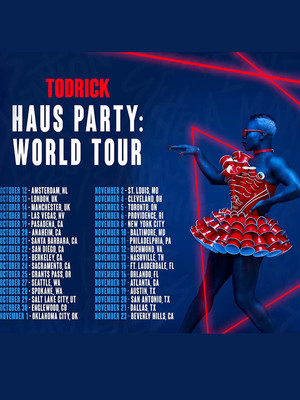 Todrick Hall, Verizon Theatre, Dallas